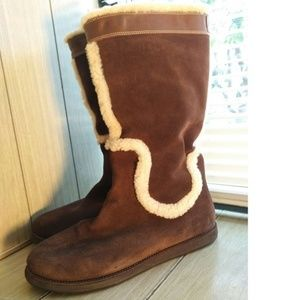 Women's Size 8 Cole Haan NIKE AIR Brown Boots